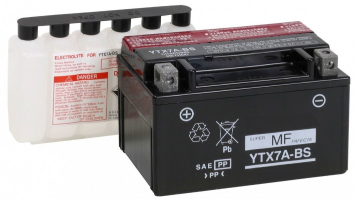 BATTERIE  YTX7A-BS