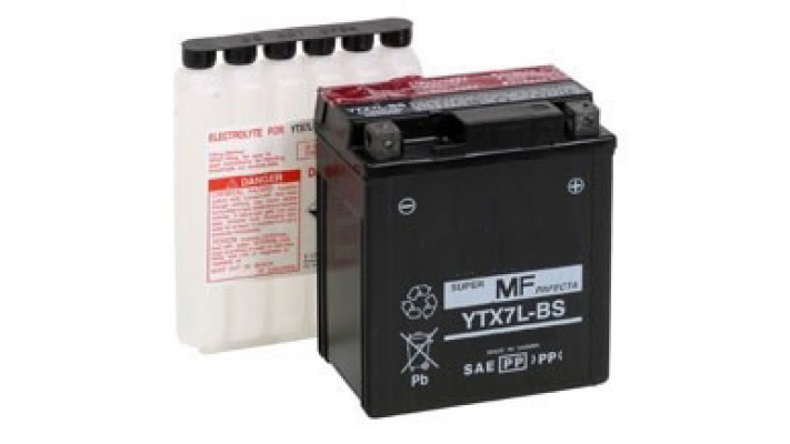 BATTERY YTX7L-BS