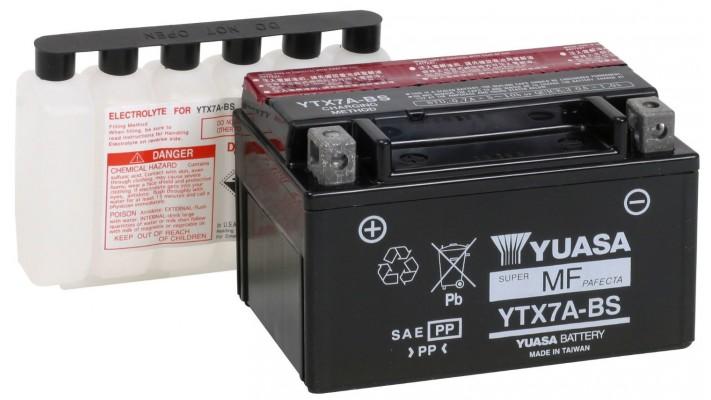 310- BATTERIE YTX7A-BS  ACIDE INCLUSE